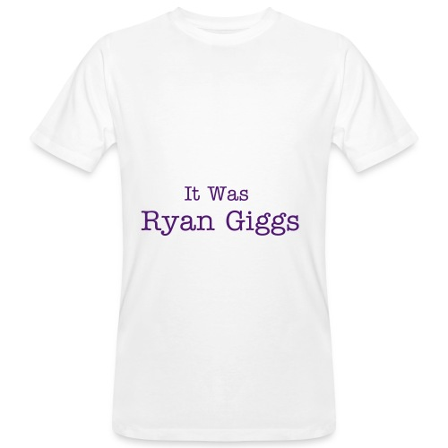 It was Ryan Giggs - Men's Organic T-Shirt