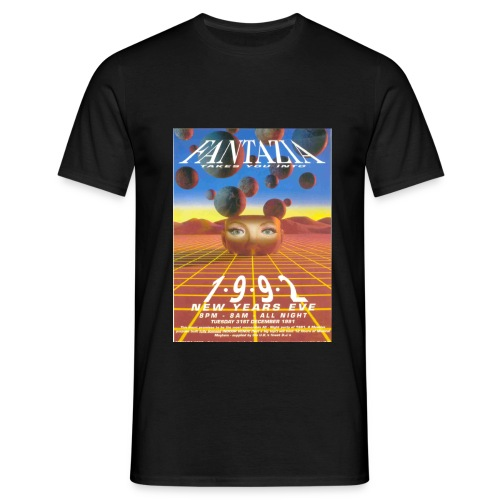 Fantazia New Year 1991 - Men's T-Shirt