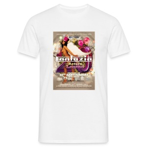 Fantazia 20th Anniversary event flyer t-shirt  - Men's T-Shirt