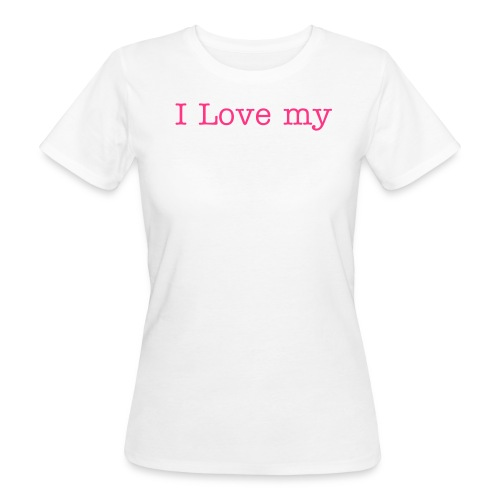 I Love my ParkBad Gütersloh - Frauen Bio-T-Shirt