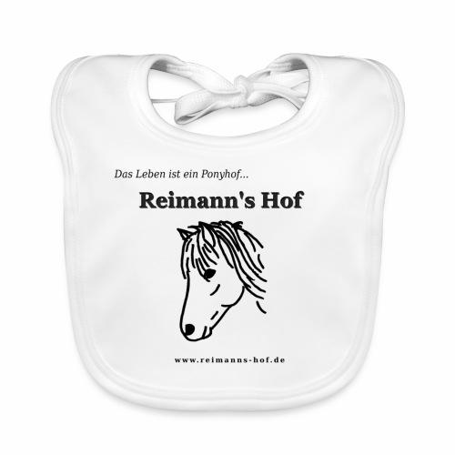 Baby Lätzchen Reimann's Hof -Ponykopf- - Baby Bio-Lätzchen