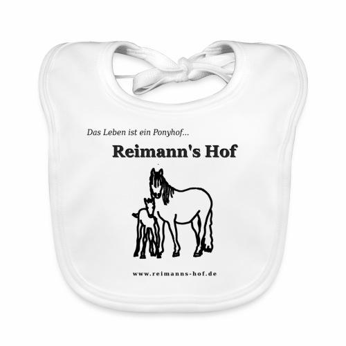 Baby Lätzchen Reimann's Hof -Stute mit Fohlen- - Baby Bio-Lätzchen
