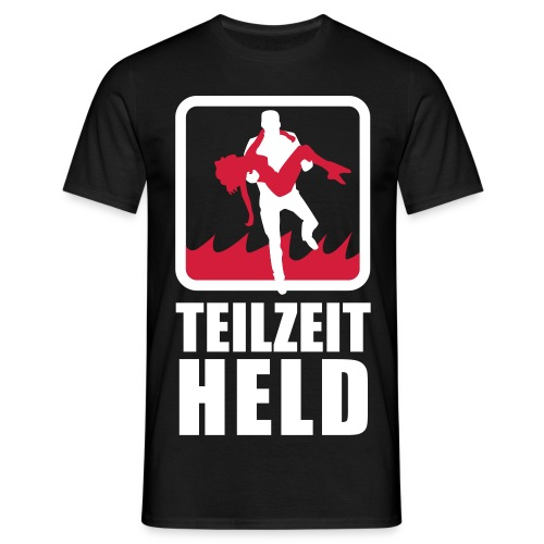 Teilzeit Held - Männer T-Shirt
