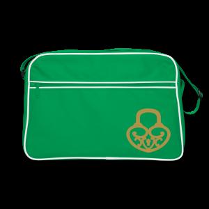 Pop My Lock-Gold Glitter - Retro Bag