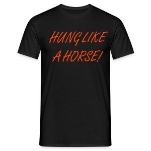 Hung Horse - Men's T-Shirt