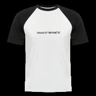Magliette ~ Maglia da baseball a manica corta da uomo ~ Numero dell'articolo 16059989