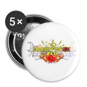 JAV Sommerfest 2011 Buttons - Buttons groß 56 mm