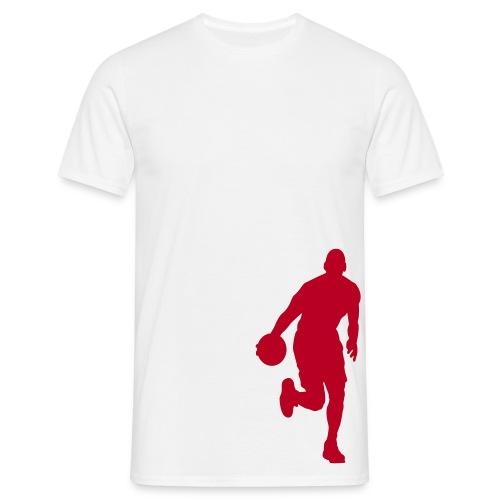 Premier Strassenball Shirt in Weiß - Männer T-Shirt