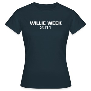 Ladies Willie Week 2011 t-shirt - Women's T-Shirt