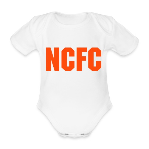 NCFC kids - Organic Short-sleeved Baby Bodysuit
