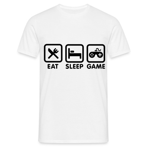 Eat, Sleep and Drink T-Shirt - Men's T-Shirt