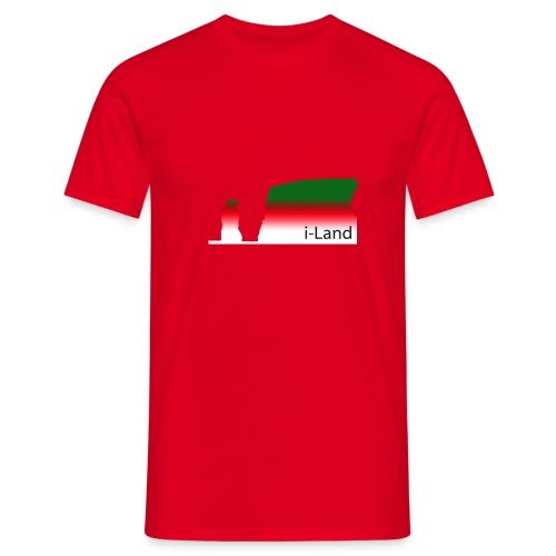 i-Land Herren Helgoland hat Biss - Männer T-Shirt