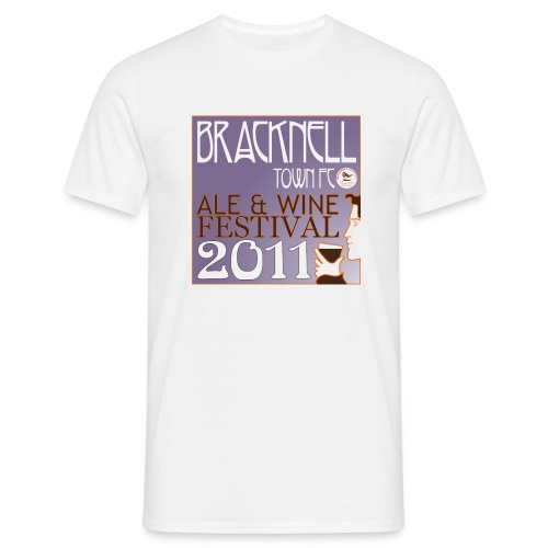 Bracknell Town FC Ale & Wine Festival 2011 t-shirt - Men's T-Shirt