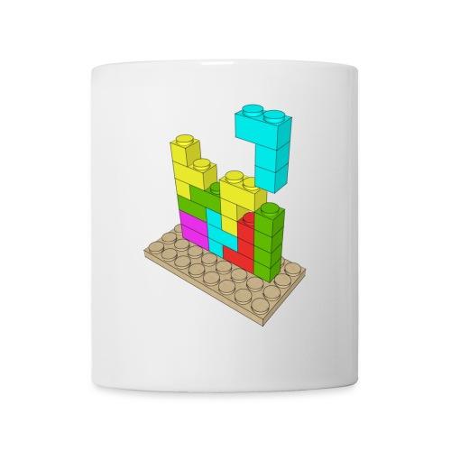 Juego construcción Tetris - Taza