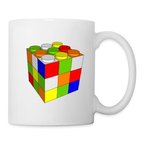 Cubo Rubik juego construcción - Taza
