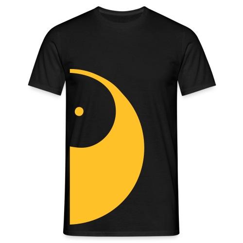 Duo-Shirt YANG - Mann (Passend dazu gibt es Duo-Shirt YING -Frau) - Männer T-Shirt