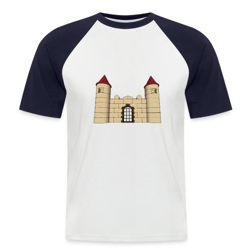 Castillo juego construcción - Camiseta béisbol manga corta hombre