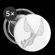 Knappar ~ Stora knappar 56 mm ~ Knappt klädd