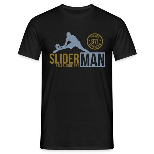 SliderMan 971/972 Simple Or/Argent T-shirt (flex3c) - T-shirt Homme