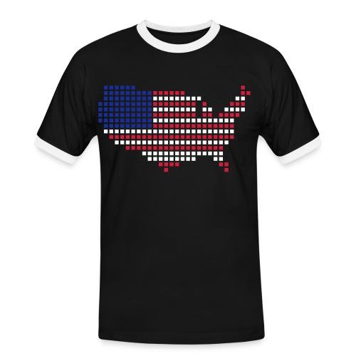 American dream - T-shirt contrasté Homme