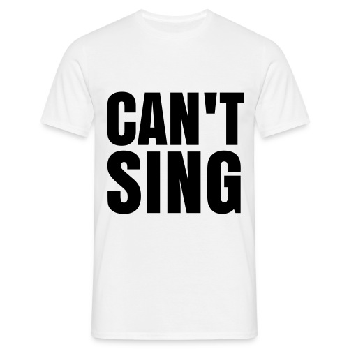 glee born this way can't sing (M) - Men's T-Shirt