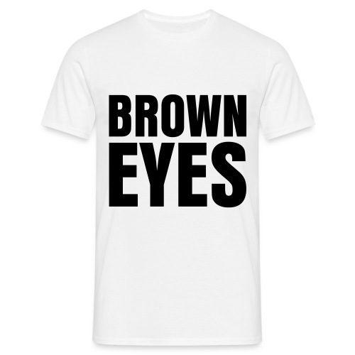 glee born this way brown eyes (M) - Men's T-Shirt