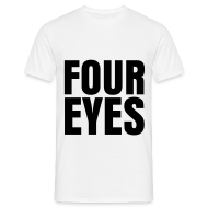 T-Shirts ~ Men's T-Shirt ~ glee born this way four eyes (M)