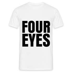 glee born this way four eyes (M) - Men's T-Shirt