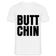 T-Shirts ~ Men's T-Shirt ~ glee born this way butt chin (M)