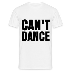 glee born this way can't dance (M) - Men's T-Shirt
