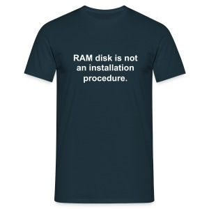 RAM disk - Men's T-Shirt
