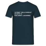 T-Shirts ~ Men's T-Shirt ~ Hello World