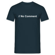 T-Shirts ~ Men's T-Shirt ~ No Comment