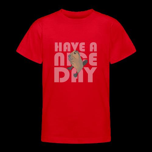 NICE DAY - Teenage T-Shirt