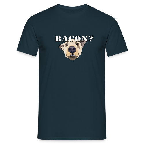 BACON DOG - Men's T-Shirt