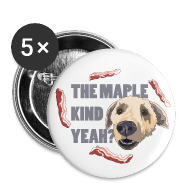 Buttons ~ Buttons small 25 mm ~ MAPLE KIND