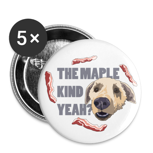 MAPLE KIND - Buttons small 1''/25 mm (5-pack)