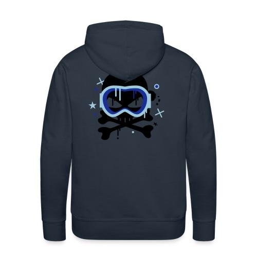 skull goggles - Men's Premium Hoodie