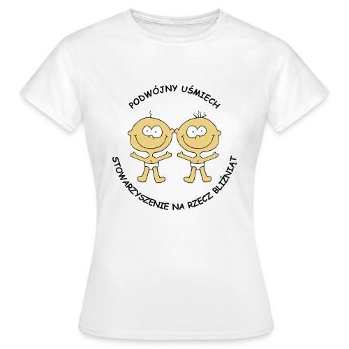 Koszulka damska Podwójny Uśmiech - Koszulka damska