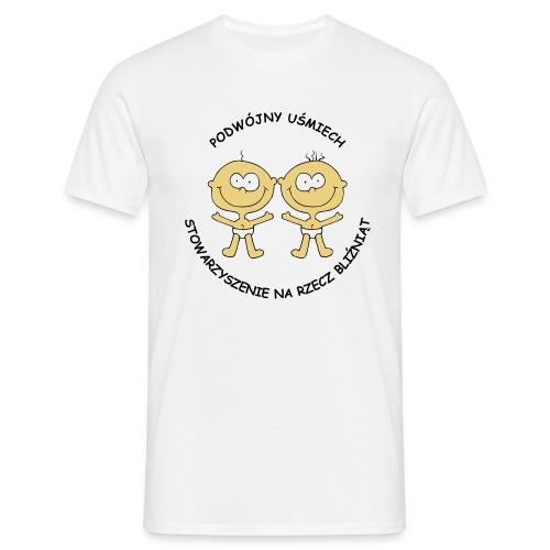 Koszulka Podwójny Uśmiech - Koszulka męska