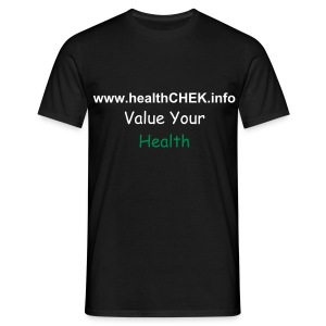 healthCHEK Core Values - Men's T-Shirt