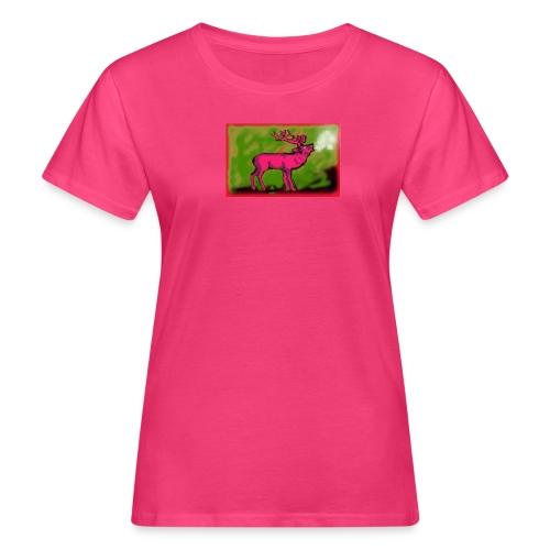 Hirsch-Warhol Paul Bangemann - Frauen Bio-T-Shirt