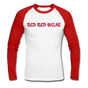 RED RED WINE - T-shirt baseball manches longues Homme