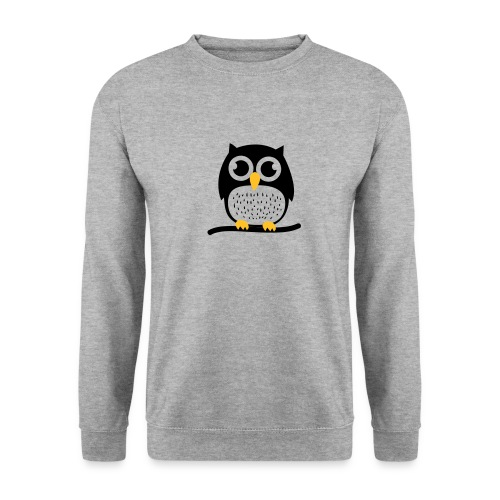 Süße Eule Pullover - Männer Pullover