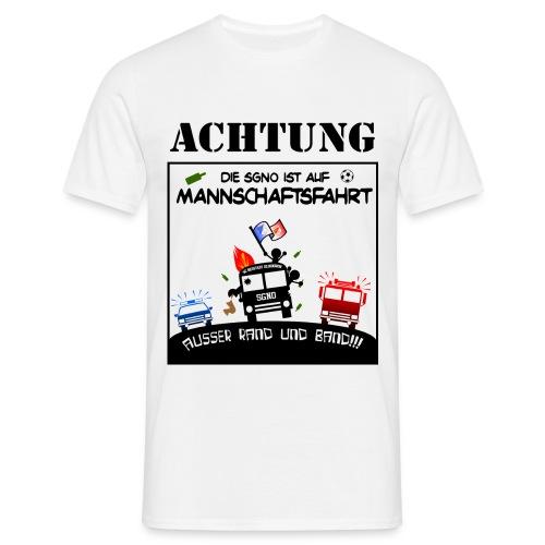 Außer Rand und Band!!! - Das Mannschaftsfahrt-Shirt - Männer T-Shirt