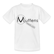 Shirts ~ Teenage T-shirt ~ Muffens Media Kids T-shirt: White