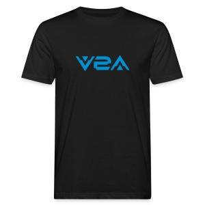 V2A - Logo - T-Shirt - 2 prints - Men's Organic T-shirt