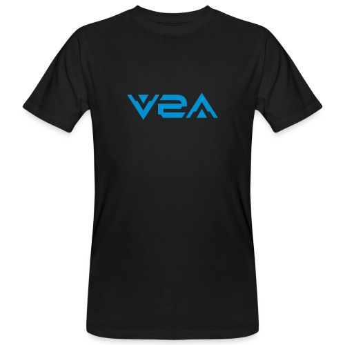 V2A - Logo - T-Shirt - 2 prints - Men's Organic T-Shirt