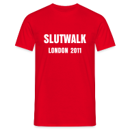T-Shirts ~ Men's T-Shirt ~ Slutwalk London 2011 - Men's T-Shirt