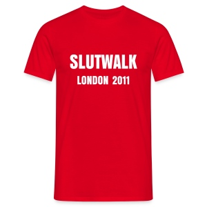 Slutwalk London 2011 - Men's T-Shirt - Men's T-Shirt